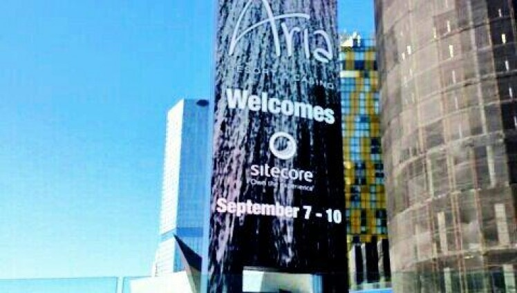 aria_welcomes_sitecore
