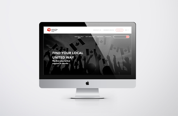 United Way Centraide Canada National Website Redesign
